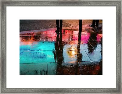 England, London, Soho, Piccadilly Framed Print by Walter Bibikow
