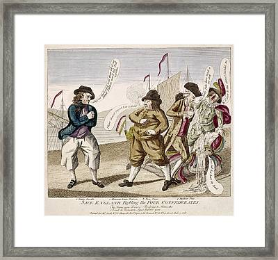 England's War, 1781 Framed Print by Granger