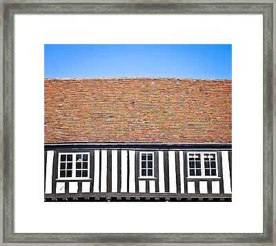 English House Framed Print by Tom Gowanlock