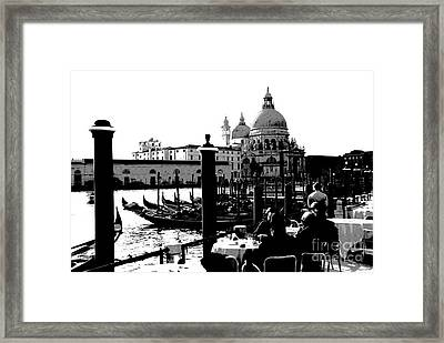 Enjoying The View Framed Print by Jacqueline M Lewis