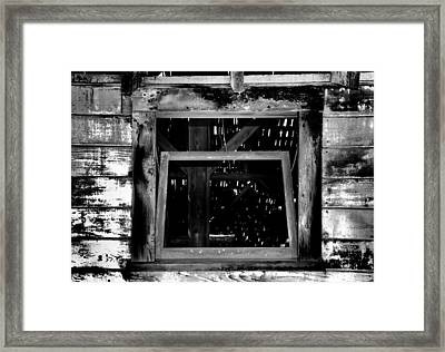 Enter Framed Print by Bob Wall