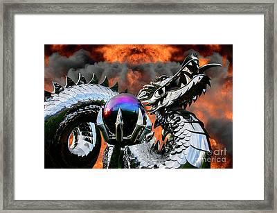 Enter The Dragon Framed Print