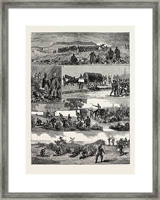 1. Entering The Enemys Country.-2. Consultation.-3 Framed Print
