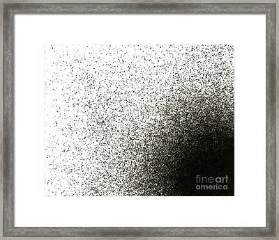 Entropy Shown By Dissipation Framed Print by Victor de Schwanberg