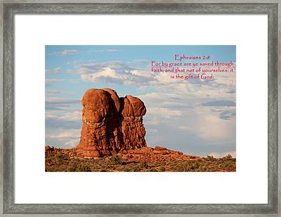 Arches Eph 2-8 Framed Print