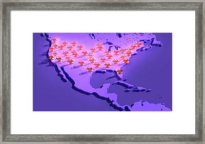 Epidemic Disease Framed Print by Tim Vernon