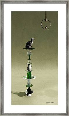 Equilibrium IIi Framed Print by Cynthia Decker