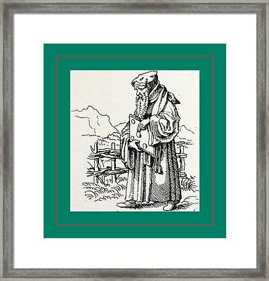 Erasmus V. Rotterdam Framed Print