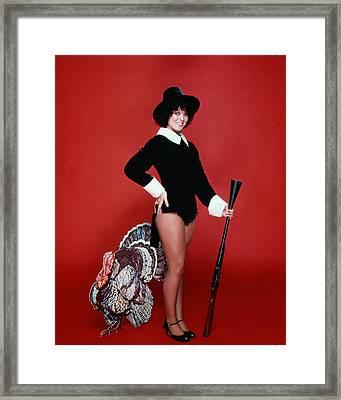 Erin Moran In Happy Days  Framed Print