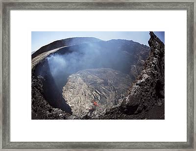 Erta Ale Volcano, Congo Framed Print