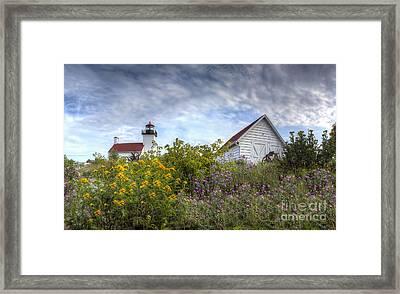 Escanaba Lighthouse Framed Print