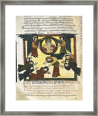 Escorial Beatus. 950 - 955. Cod & II Framed Print by Everett