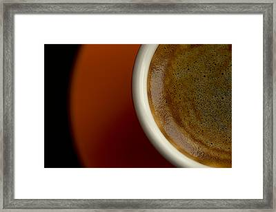 Espresso Framed Print by Chevy Fleet