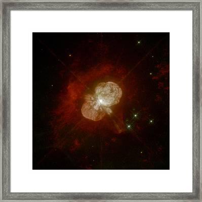 Eta Carinae, Stellar System Framed Print
