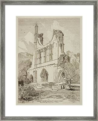 Etchings By John Sell Cotman Framed Print