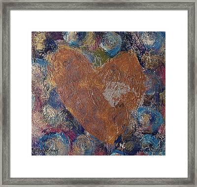 Eternal Heart Framed Print