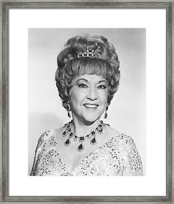 Ethel Merman Framed Print