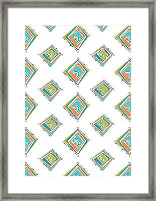 Ethnic Window Framed Print by Susan Claire