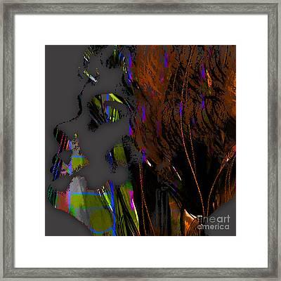 Etta James Collection Framed Print by Marvin Blaine