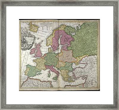 Europe Framed Print by British Library