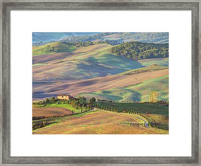 Europe, Italy, Tuscany Framed Print by Julie Eggers