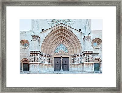 Europe, Spain, Catalonia, Tarragona Framed Print by Rob Tilley