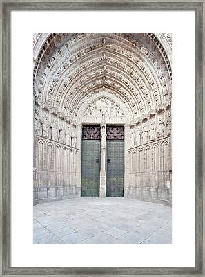 Europe, Spain, Toledo, Toledo Cathedral Framed Print by Rob Tilley