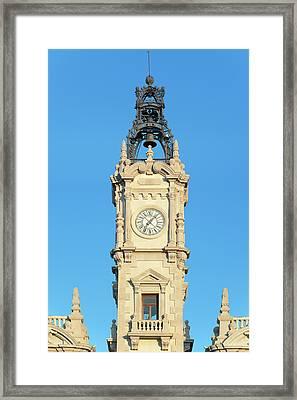 Europe, Spain, Valencia, City Hall Framed Print by Rob Tilley