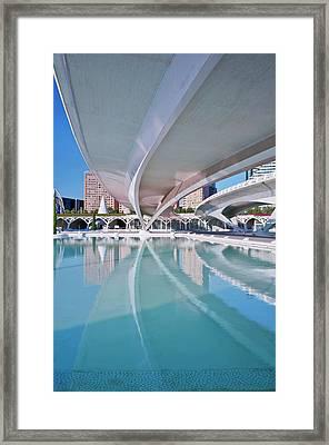 Europe, Spain, Valencia, City Of Arts Framed Print