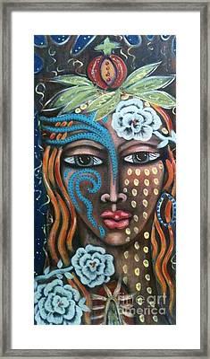 EVE Framed Print by Maya Telford