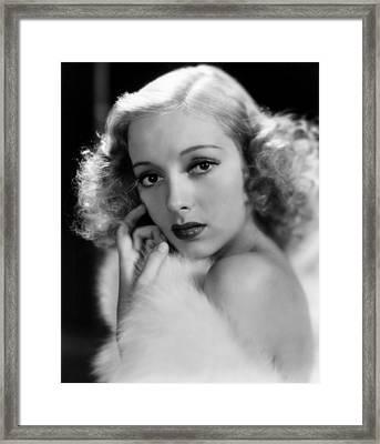 Evelyn Keyes, 1938 Framed Print by Everett