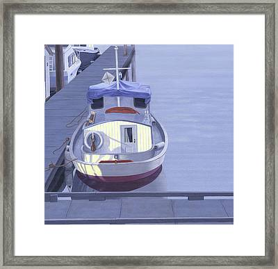 Evening At Port Hardy Framed Print