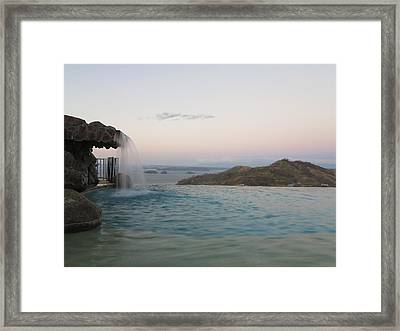 Evening Overlook Framed Print