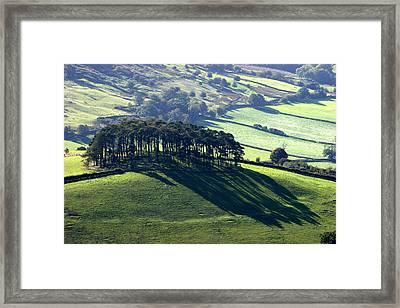 Evening Shadows Framed Print by John Topman