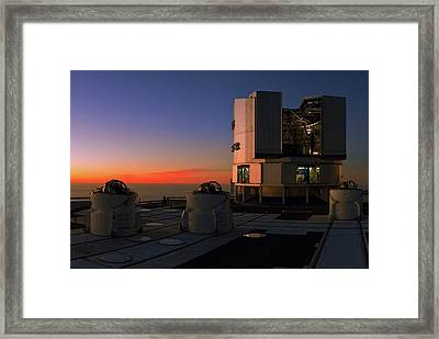 Evening Twilight Over The Atacama Desert Framed Print by Babak Tafreshi