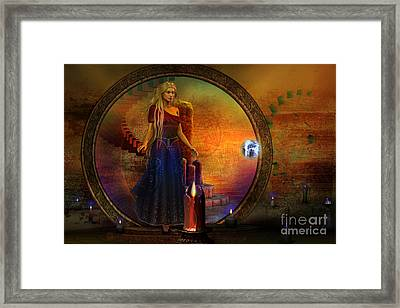 Evermore Framed Print by Shadowlea Is