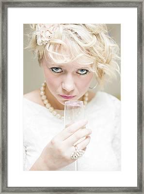 Evil Eyes Framed Print