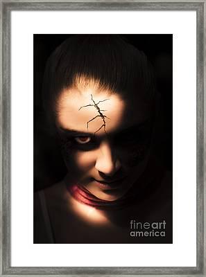 Evil Framed Print
