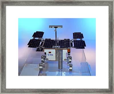 Exomars Rover Framed Print by Detlev Van Ravenswaay