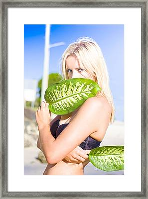 Exotic Beauty Framed Print by Jorgo Photography - Wall Art Gallery
