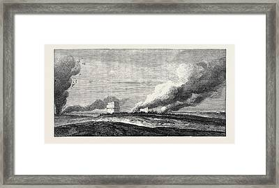 Expedition Of A British Force From Aden To Shugra Framed Print