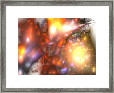Explosion Framed Print by Steve K