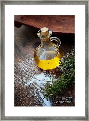 Extra Virgin Olive Oil  Framed Print by Mythja  Photography