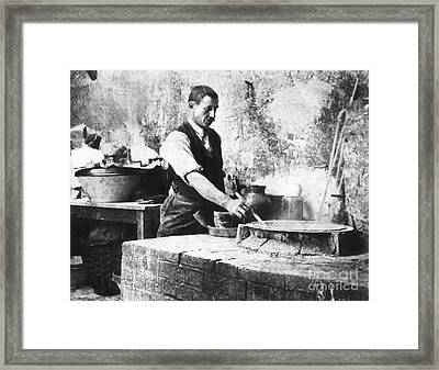 Extraction Of Radium, 1898-1902 Framed Print by Emilio Segre Visual Archives/american Institute Of Physics