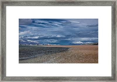 Eyjafjordur, Akureyri, Iceland Framed Print