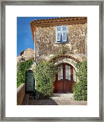 Eze France Framed Print