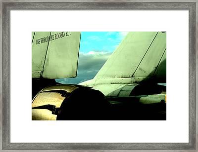 F-14 Tomcat Framed Print by Maxwell Amaro