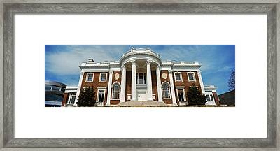 Facade Of The Faxon-thomas Mansion Framed Print by Panoramic Images