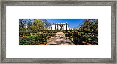 Facade Of The Kentucky Governors Framed Print by Panoramic Images