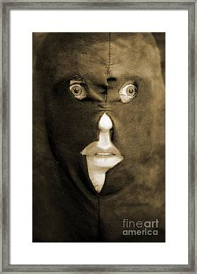 Face Of Fear Framed Print by Jorgo Photography - Wall Art Gallery